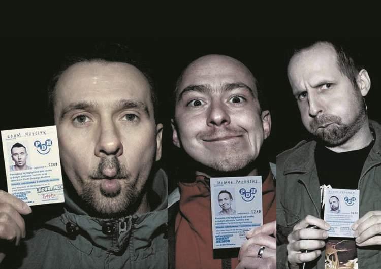 kabaret Formacja Chatelet Adam Małczyk Partia Dobrego Humoru
