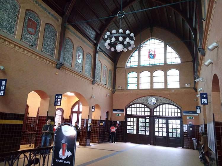 Iława dworzec kolejowy