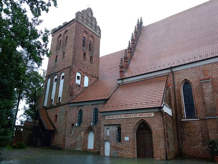 Iława kościół Przemienienia Pańskiego