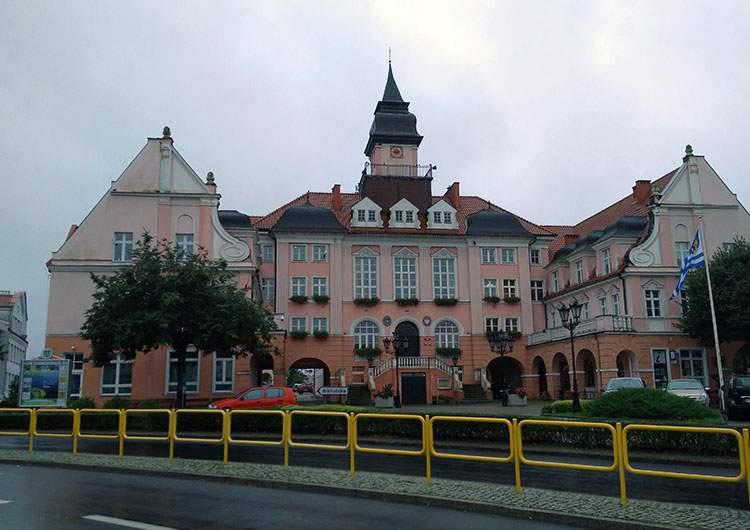 Iława ratusz
