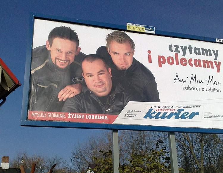 kabaret Ani Mru-Mru Wójcik Wilkołek