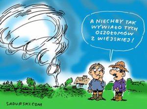 kampania prezydencka wybory satyrycy rysunki Szczepan Sadurski
