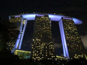 Marina Bay Sands Singapore hotel Singapur