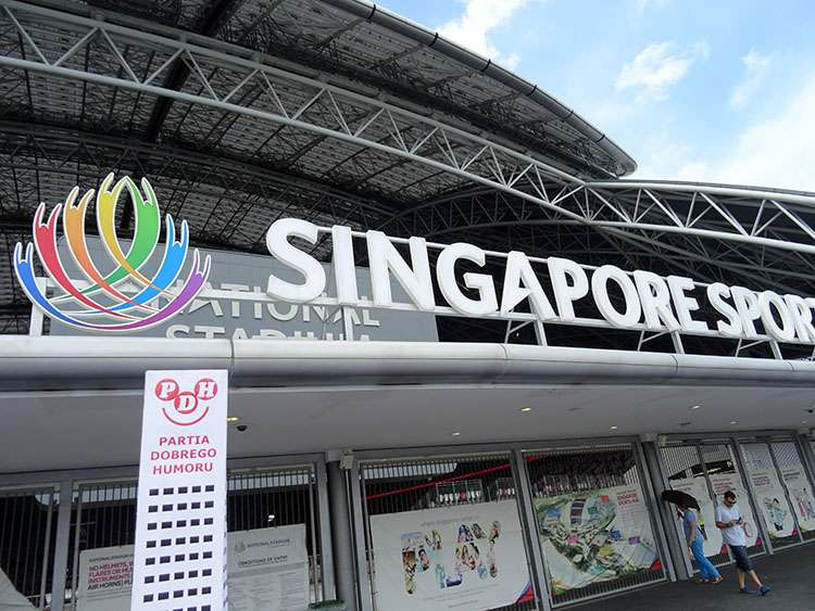 Singapur Singapore National Stadium