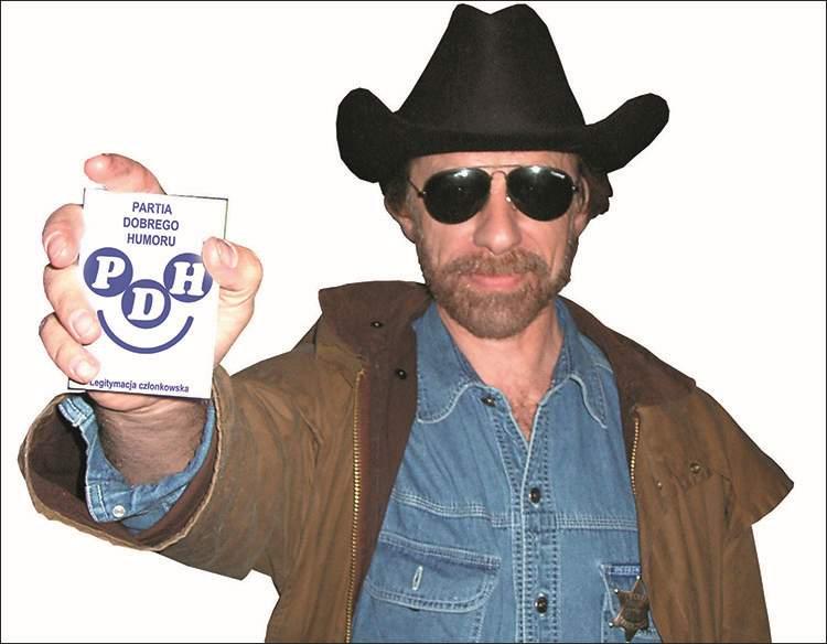 Chuck Norris sobowtór Partia Dobrego Humoru