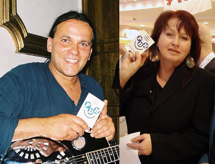 Jacek Spruch gitarzysta Danuta Błażejczyk Partia Dobrego Humoru