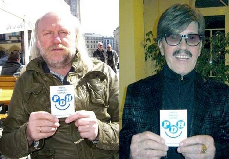 Andrzej Sikorowski Pod Budą Edward Hulewicz Partia Dobrego Humoru