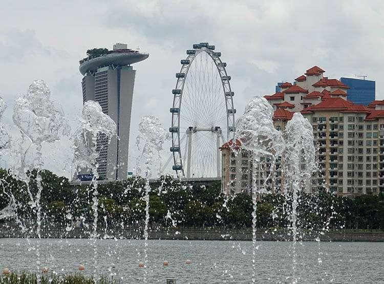 Singapur ciekawostki Marina Bay Sands Singapore