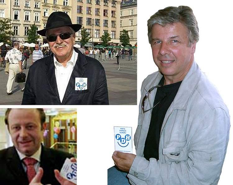 Jan Nowicki Emilian Kamiński Olaf Lubaszenko Partia Dobrego Humoru