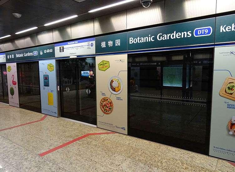 ciekawostki Singapur metro Singapore