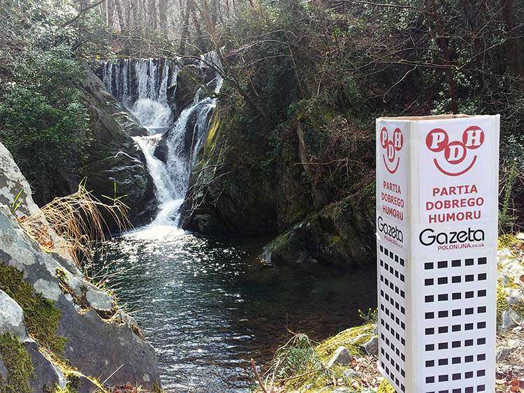 Aberystwyth Walia wodospad