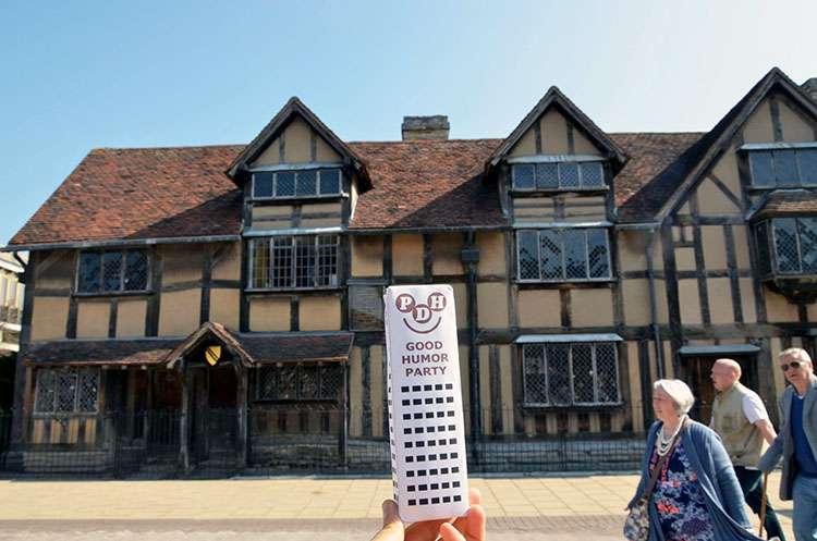 Dom Szekspira Statford Wielka Brytania