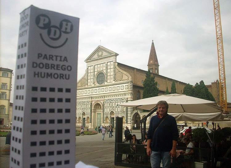 Florencja Włochy katedra Santa Maria Novella