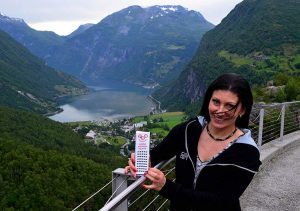 Geirangerfiord Norwegia fiordy