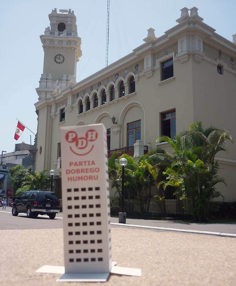 Lima Peru Wesoły Wieżowiec
