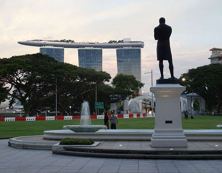 hotel Marina Bay Sand Singapore Singapur ciekawostki