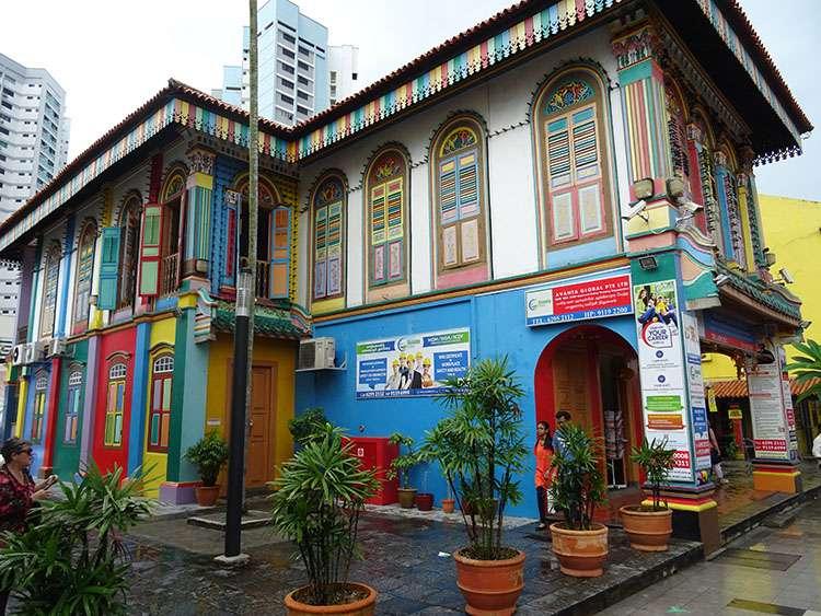 Singapur ciekawostki Little India Singapore dzielnica indyjska