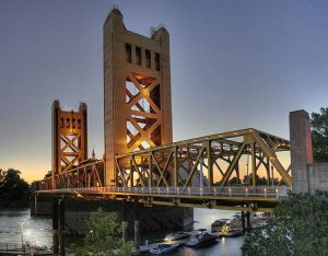 Tower Bridge Sacramento Kalifornia