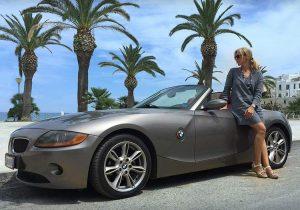 kobieta samochód kierowca