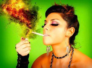 papieros samochód tapicerka dym papierosowy