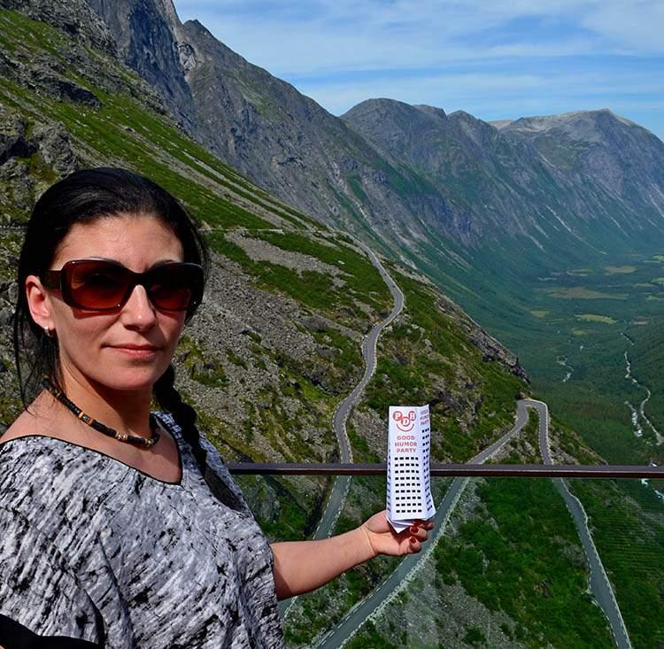 Trollstigen Droga trolli Norwegia
