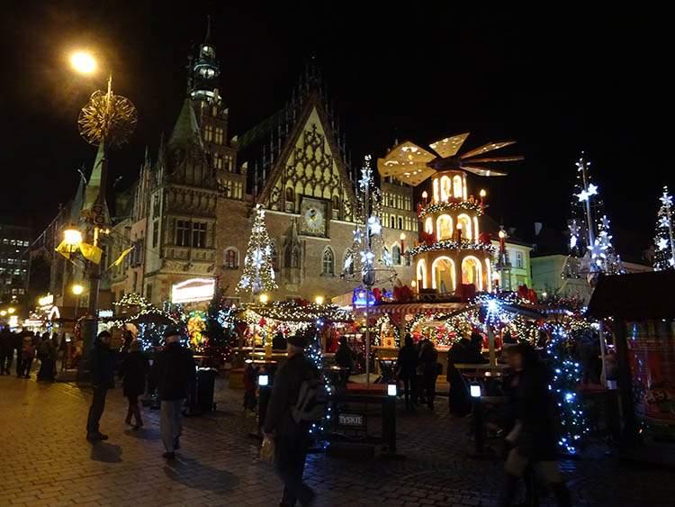 Wrocław jarmark bożonarodzeniowy