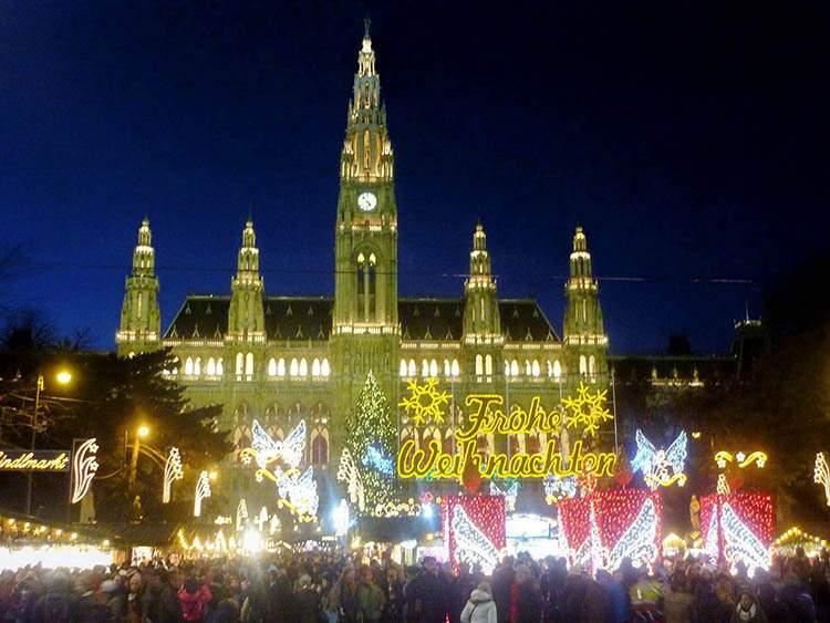 Wiedeń Austria jarmarki bożonarodzeniowe
