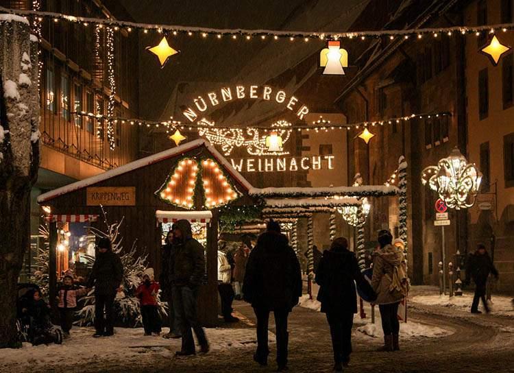 Norymberga jarmark bożonarodzeniowy