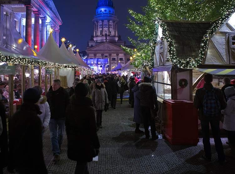 Berlin jarmarki bożonarodzeniowe