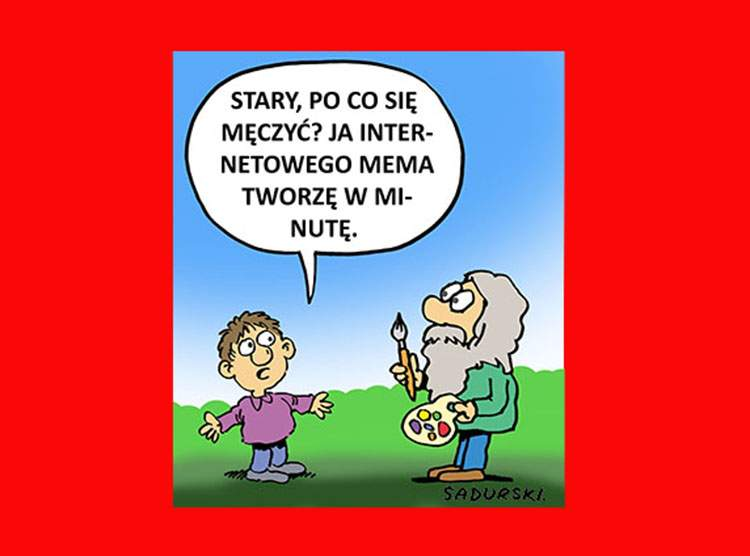 mem memy internetowe dowcipy humor rysunki