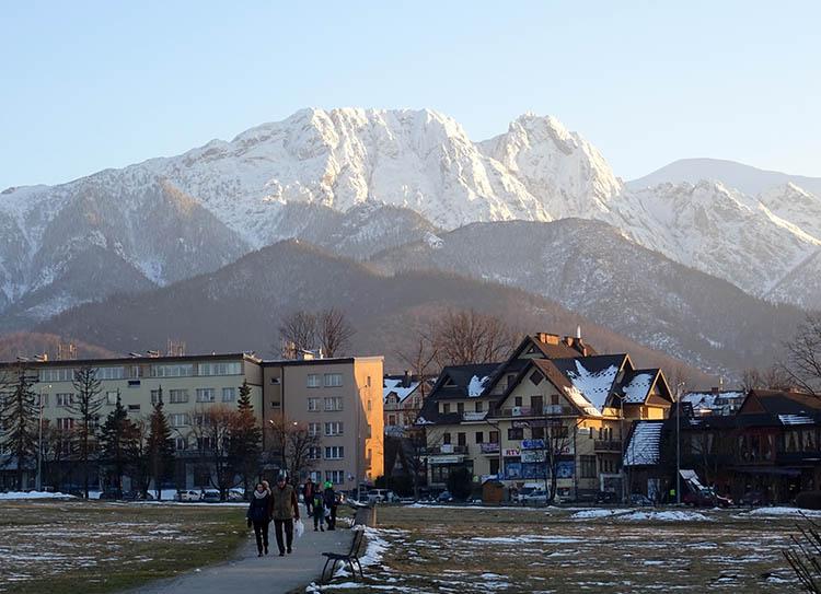 Zakopane Giewont Tatry Podhale