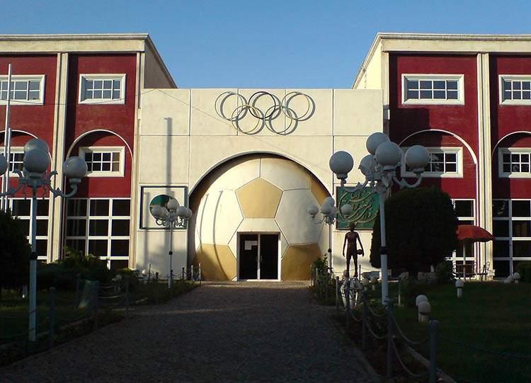 Iran ciekawostki piłka nożna Nishapur kompleks sportowy