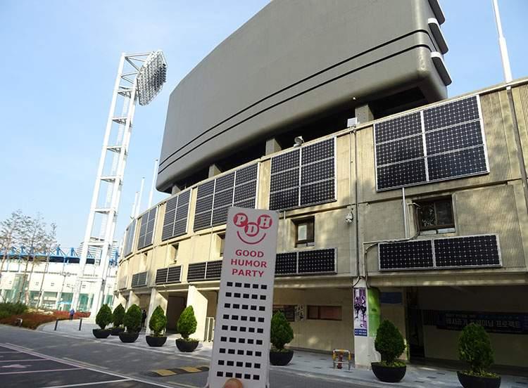 Mokdong Stadium Seul Korea Południowa stadiony