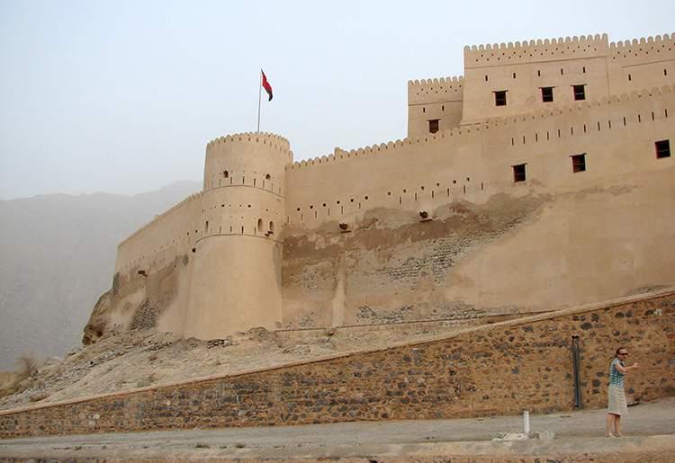 Oman ciekawostki fort Al Hazm