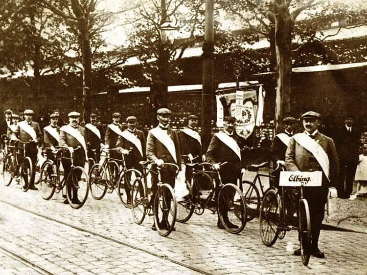 rower ciekawostki historia roweru Elbląg