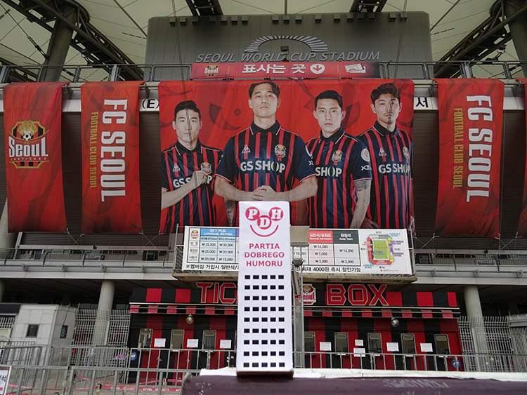 Seoul World Cup Stadium Seul Korea Południowa Seoul South Korea