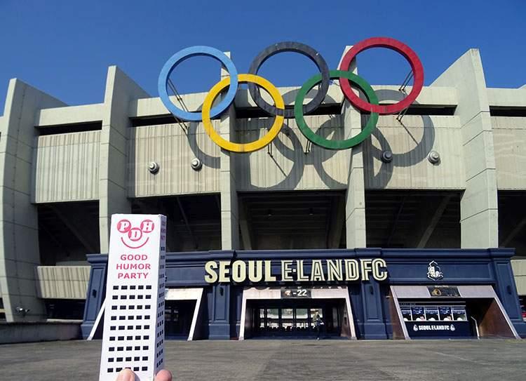 stadion olimpijski stadiony Seul Korea południowa