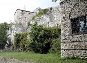 zamek Bąkowiec Morsko zamki