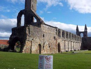 Saint Andrews Szkocja Wesoły Wieżowiec