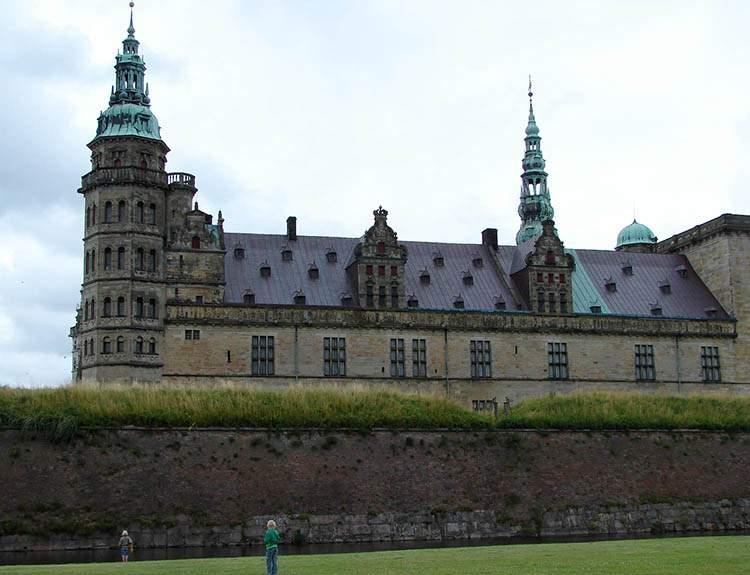 Helsingor Dania zamek Kronborg ciekawostki