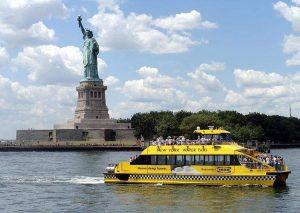 Statua Wolności Nowy Jork USA NYC ciekawostki New Jersey żółta taksówka wodna papierosy ciekawostki