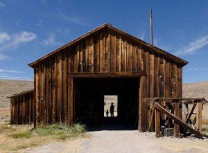 Bodie ghost town Dziki Zachód gorączka złota Kalifornia