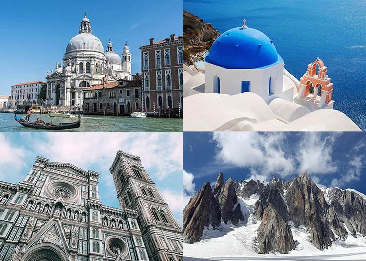 Europa ciekawostki o Europie zabytki przyroda góra morze
