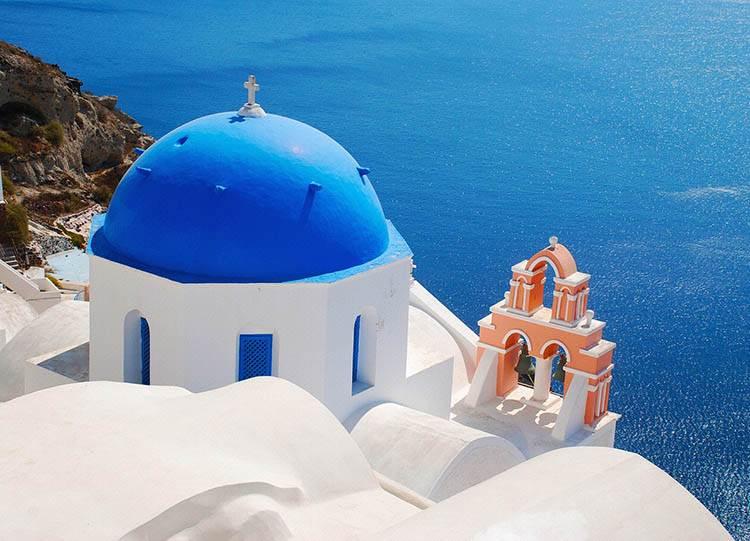 wyspa Santorini Grecja Europa ciekawostki o Europie