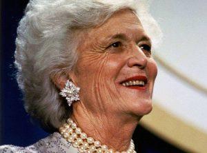 Barbara Bush ciekawostki życiorys USA