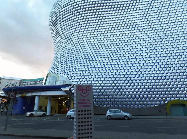 Bullring Birmingham ciekawostki
