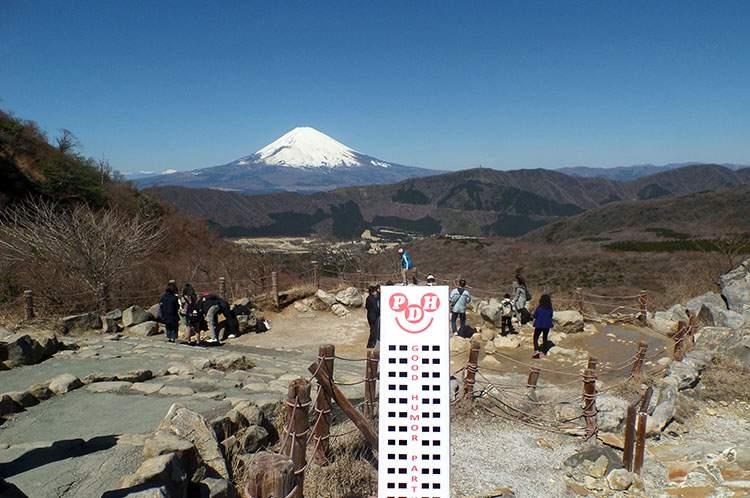 Hakone Owakudani Japan Japonia góra Fuji wulkan