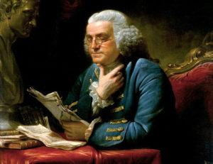 Benjamin Franklin ciekawostki cytaty krótka biografia