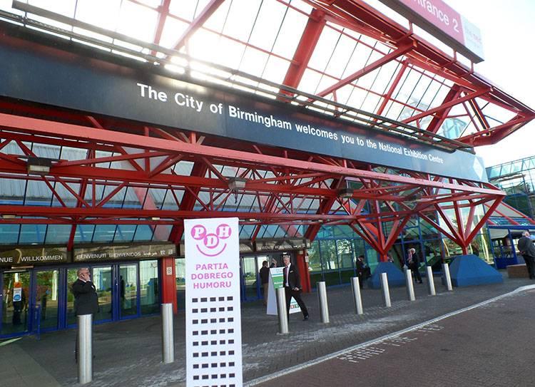 NEC National Exhibition Centre Birmingham ciekawostki
