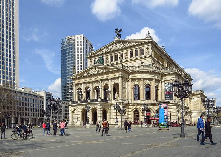 opera Frankfurt nad Menem ciekawostki o Frankfurcie nad Menem